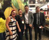 Prefeito Aelton Fonseca prestigia no Hangar em Belém a sexta feira Internacional de Chocolate e Cacau o Chocolate Amazônia 2019