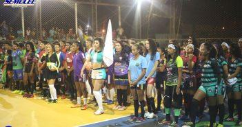 XI Futsal Cidade de Anapu tem abertura com jogo empatado em 4×4 entre as equipes do oliveira e Revemar